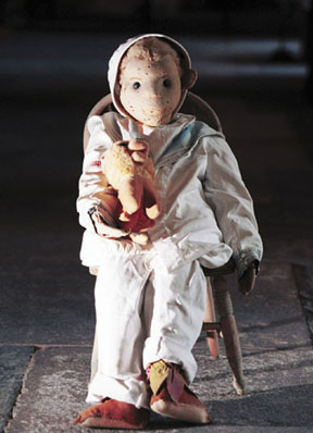 Robert the Doll photo by Rob O'Neal from Key West Art & HIstorical Society press release dated Sept. 20, 2004